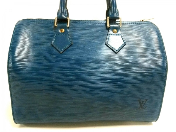 wholesale dealer e8a5a f0bf5 LOUIS VUITTON(ルイヴィトン) ハンドバッグ エピ スピーディ25 M43015 トレドブルー