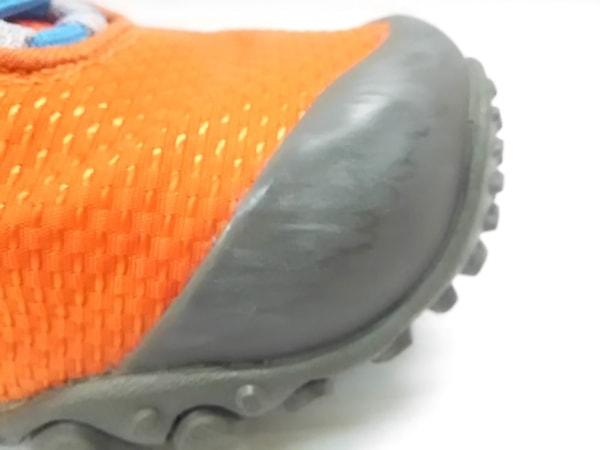 MERRELL(メレル) 靴 レディース オレンジ×ダークグレー 化学繊維