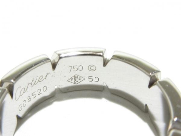Cartier(カルティエ) リング 50美品  タンクフランセーズ K18WG 7