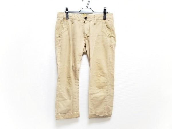 ティーエムティー パンツ サイズS メンズ新品同様  ダークネイビー×白 ストライプ
