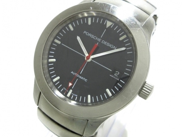 PORSCHE DESIGN(ポルシェデザイン) 腕時計 6602.41 メンズ 黒