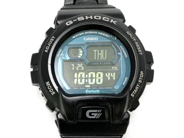 CASIO(カシオ) 腕時計 G-SHOCK GB-6900B メンズ BIuetooth対応 黒×ブルー