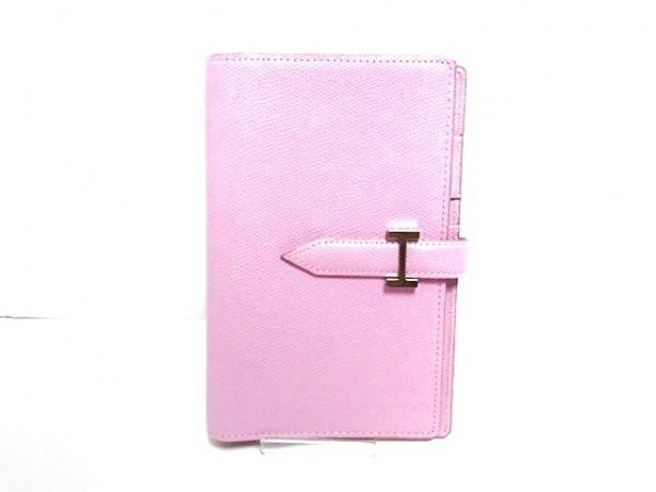 Franklin Covey(フランクリンコヴィー) 手帳 ピンク レザー
