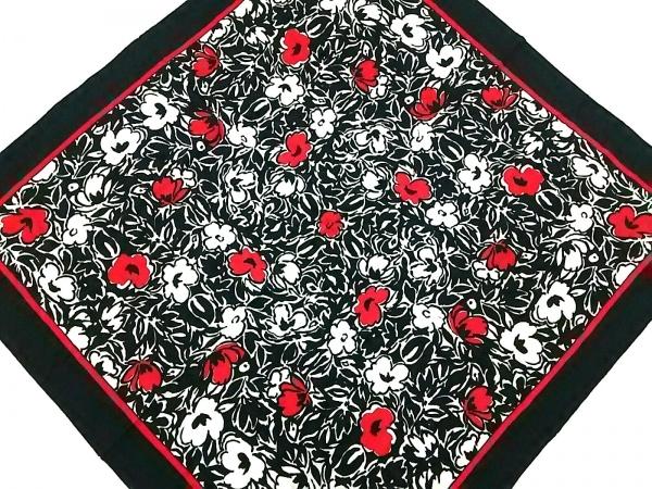 GIVENCHY(ジバンシー) スカーフ美品  黒×アイボリー×レッド