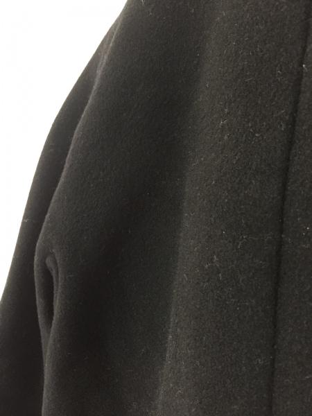 YOKO CHAN(ヨーコ チャン) コート サイズ36 S レディース 黒 冬物/フェイクファー