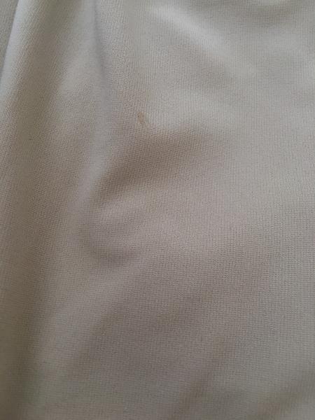 three dots(スリードッツ) パンツ サイズXS レディース ベージュ ウエストゴム