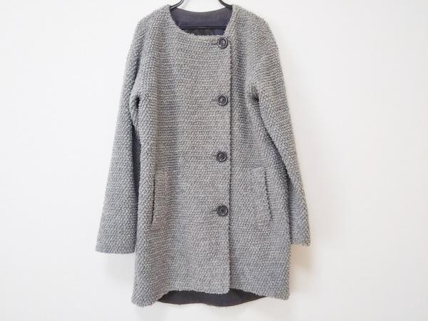 UNTITLED(アンタイトル) コート サイズ2 M レディース美品  グレー 春・秋物