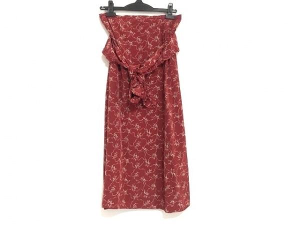 PINK HOUSE(ピンクハウス) ロングスカート サイズ30436005 レディース美品  花柄