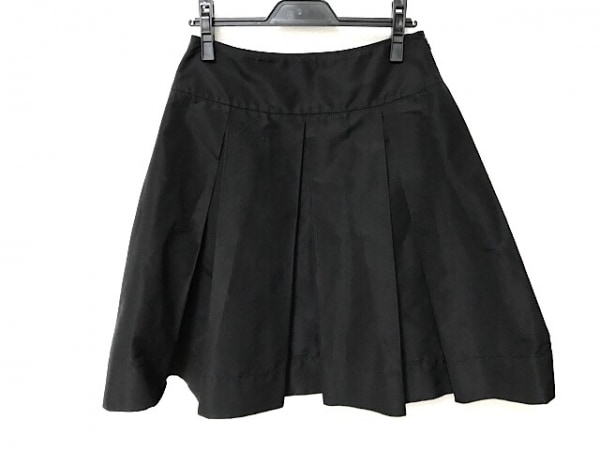 PRADA(プラダ) スカート サイズ40 M レディース美品  黒