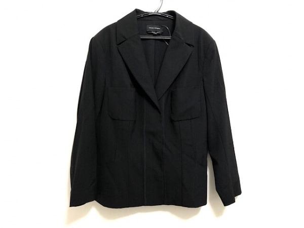 ナルシソロドリゲス ジャケット サイズ40 M レディース 黒 肩パッド/スナップボタン