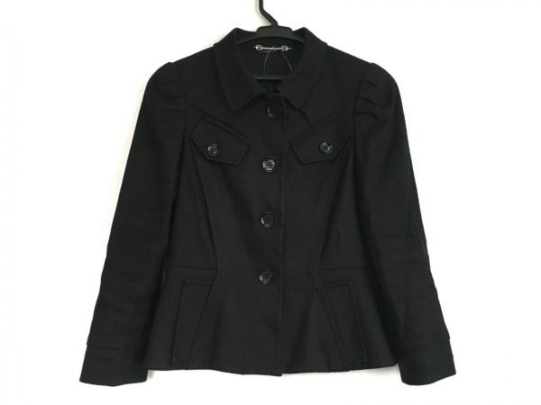 GUCCI(グッチ) ジャケット サイズ40 M レディース 黒 肩パッド