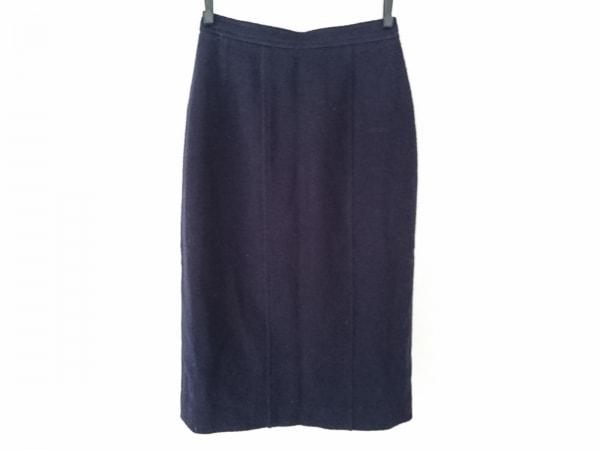 CHANEL(シャネル) スカート サイズ34 S レディース ダークネイビー BOUTIQUE