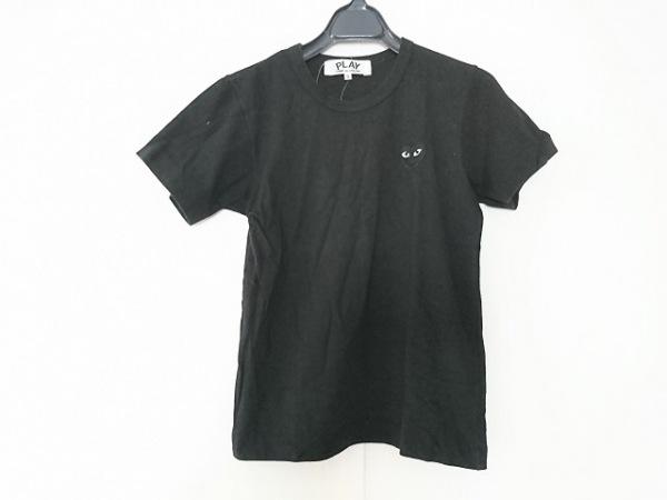 プレイコムデギャルソン 半袖Tシャツ サイズS レディース 黒 AD2008