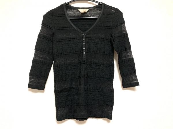 ラルフローレンデニム&サプライ 七分袖カットソー サイズXS レディース美品  黒