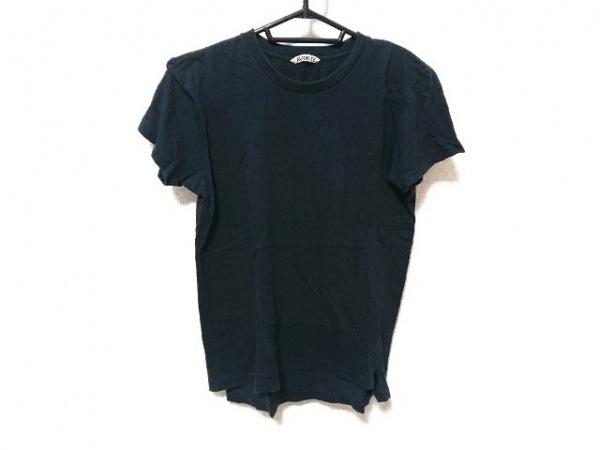AURALEE(オーラリー) 半袖Tシャツ サイズ1 S レディース 黒