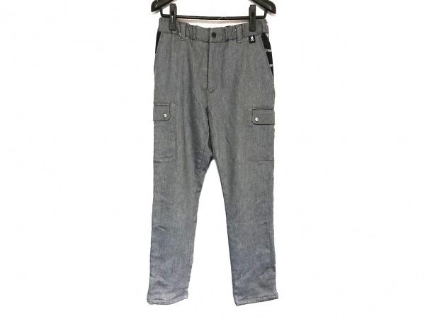 サイコバニー パンツ サイズS メンズ ライトグレー×ダークグレー 迷彩柄