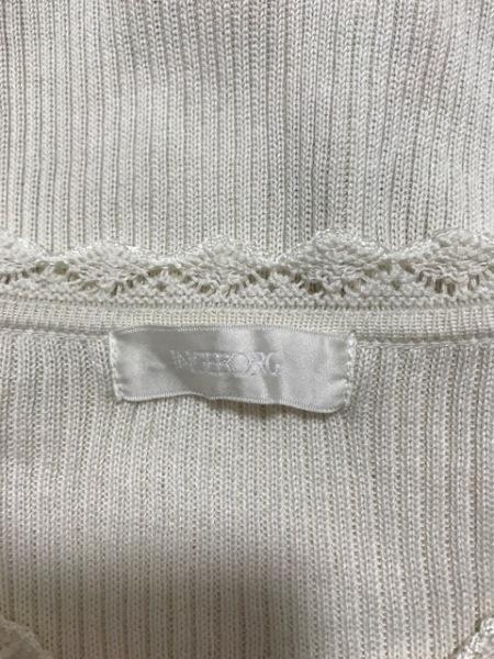 INGEBORG(インゲボルグ) 長袖セーター サイズ9 M レディース美品  アイボリー レース