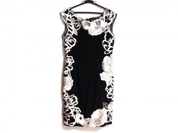 GRACE CONTINENTAL(グレースコンチネンタル) ドレス サイズ36 S レディース 黒×白