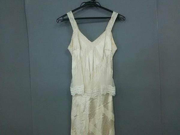 buy popular 7e708 44768 ChristianDior(クリスチャンディオール) ドレス サイズI 42 レディース アイボリー