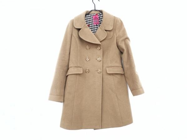 DOLLY GIRL(ドーリーガール) コート サイズ2 S レディース ブラウン 冬物