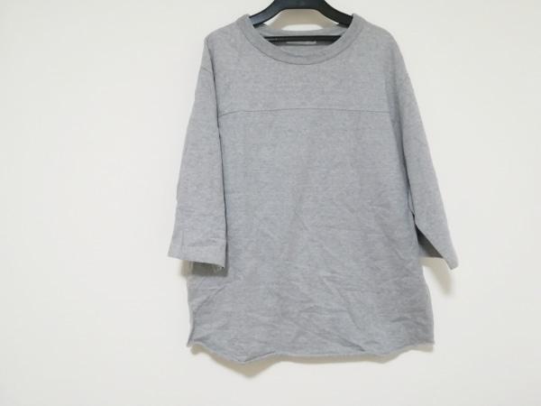 SCYE(サイ) 七分袖カットソー サイズ38 M レディース美品  グレー BASICS
