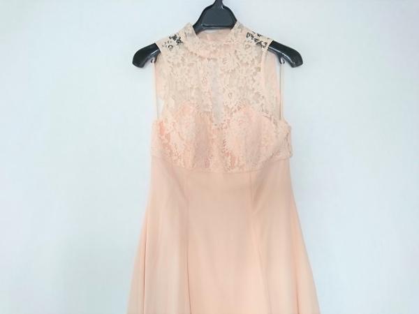 GENETVIVIEN(ジュネビビアン) ドレス サイズ9 M レディース ピンク レース