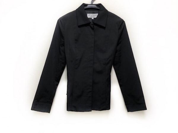 ヴァンドゥ オクトーブル コート サイズ38 M レディース美品  黒 ショート丈