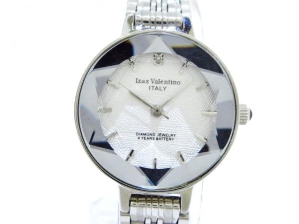 izax valentino(アイザックバレンチノ) 腕時計美品  IVL-200-2 レディース シルバー