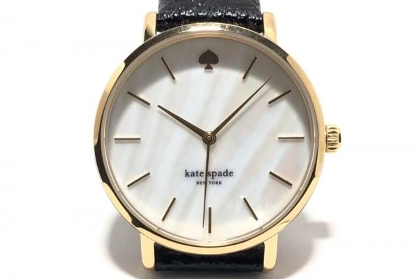 Kate spade(ケイト) 腕時計 0010 レディース シェル文字盤 白