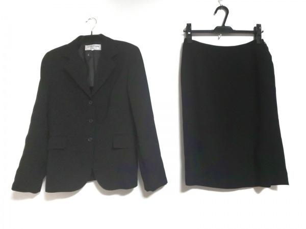 22OCTOBRE(ヴァンドゥ オクトーブル) スカートスーツ サイズ38 M レディース 黒