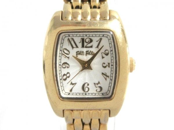 FolliFollie(フォリフォリ) 腕時計 WF5G143BPS レディース 白
