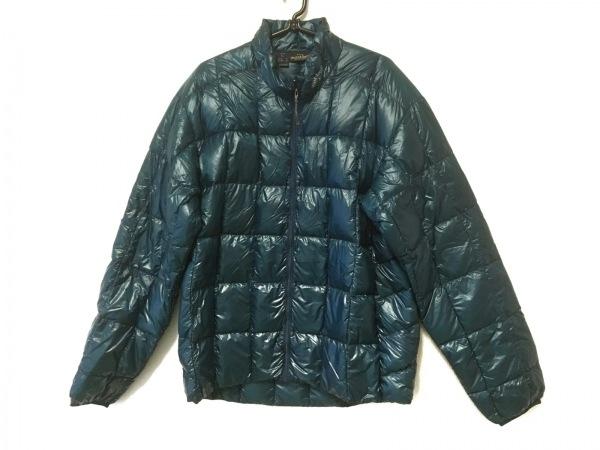 mont-bell(モンベル) ダウンジャケット サイズL メンズ ブルーグリーン 冬物