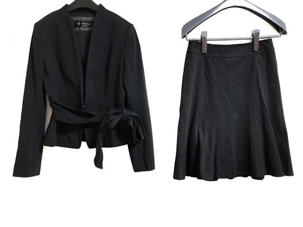 Brilliantstage(ブリリアントステージ) スカートスーツ サイズ7 S レディース 黒