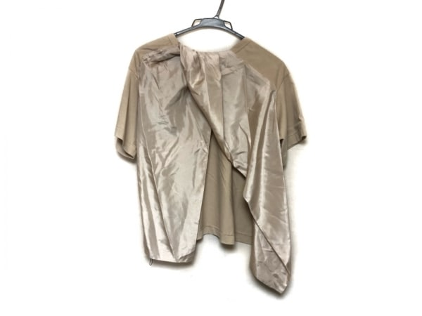 SCYE(サイ) 半袖カットソー サイズ38 M レディース美品  ベージュ シルク