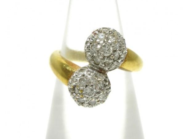 PonteVecchio(ポンテヴェキオ) リング K18YG×ダイヤモンド ダイヤモンド0.39カラット