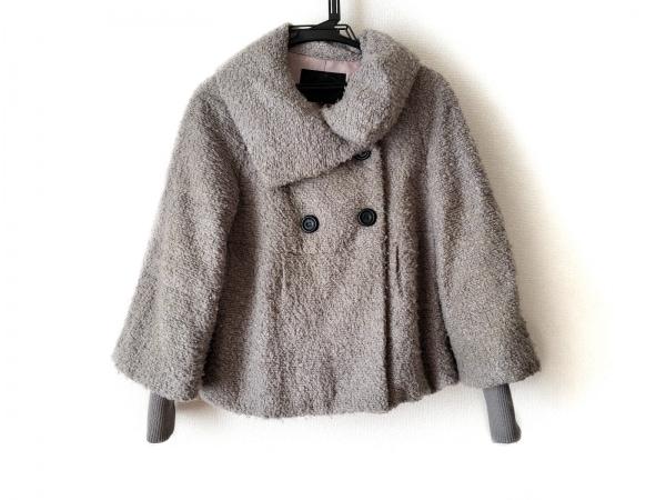 UNTITLED(アンタイトル) コート サイズ2 M レディース グレー 冬物