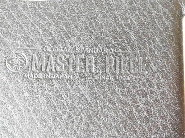 MASTER-PIECE(マスターピース) 携帯電話ケース 黒×ブラウン iphoneケース レザー