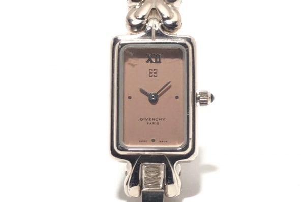 GIVENCHY(ジバンシー) 腕時計 - レディース ラインストーン ベージュ