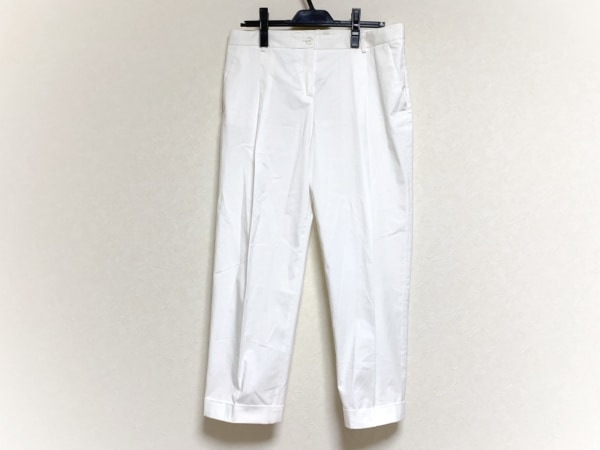 JILSANDER(ジルサンダー) パンツ サイズ38 S レディース 白