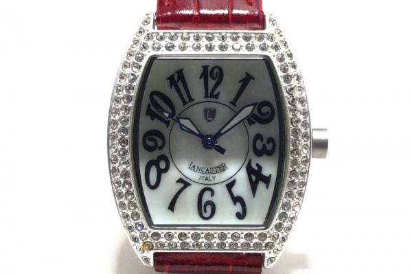 LANCASTER(ランカスター) 腕時計 0248L レディース シェルホワイト