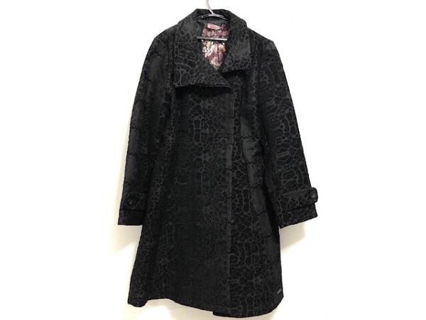 Desigual(デシグアル) コート レディース 黒×ダークグレー 冬物