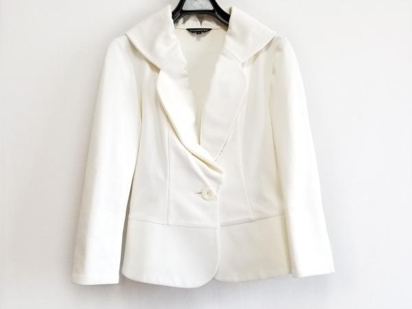M-PREMIER(エムプルミエ) ジャケット サイズ36 S レディース 白