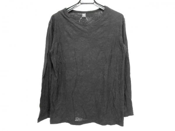 Y's(ワイズ) 長袖Tシャツ サイズ2 M レディース 黒