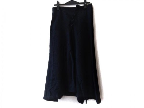 Y's(ワイズ) ロングスカート レディース美品  ダークネイビー