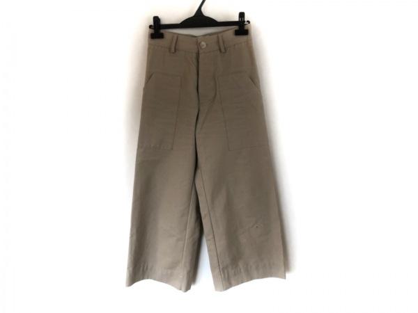 スタジオニコルソン パンツ サイズ0 XS レディース ベージュ ワイドパンツ