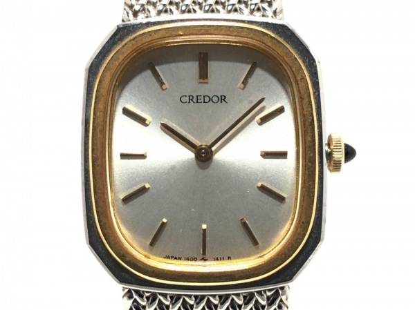 SEIKO CREDOR(セイコークレドール) 腕時計 1400-5881 レディース シルバー