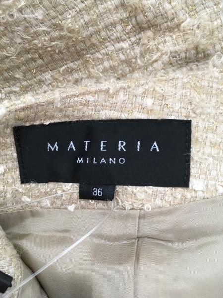 マテリア スカート サイズ36 S レディース美品  ツイード/ラメ 3