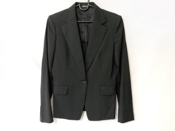 COMME CA DU MODE(コムサデモード) スカートスーツ サイズ9 M レディース 黒 肩パッド