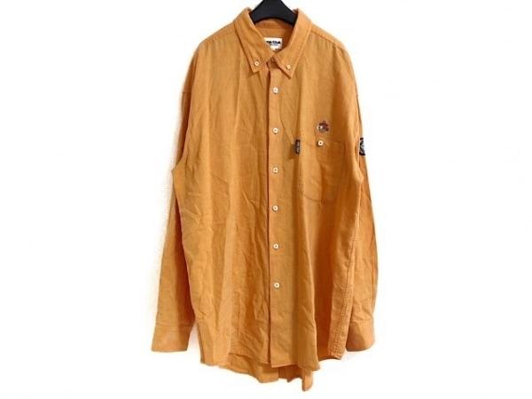 SINACOVA(シナコバ) 長袖シャツ サイズLL メンズ オレンジ LUPO DI MARE