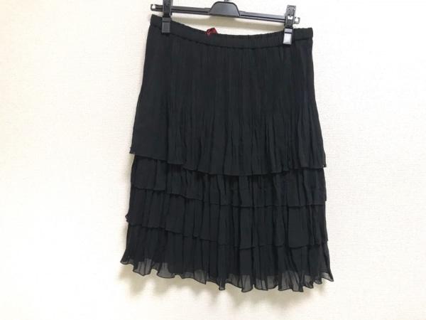 NOKO OHNO(ノコオーノ) スカート サイズ42 L レディース美品  黒 プリーツ